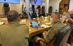 جلسة مشاورات أمنية في اسرائيل بشأن القدس وغزة