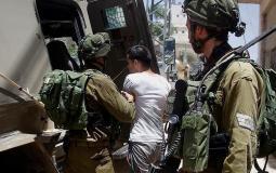 قوات الاحتلال تعتقل خمسة شبان من مدينة جنين ومخيمها