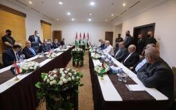 بدء اجتماع الثنائي بين رئيس المخابرات المصرية وقيادة حماس في غزة