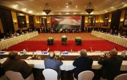 الوفد الأمني المصري ووفود الفصائل الفلسطينية في غزة
