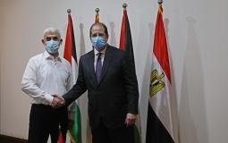 رئيس جهاز المخابرات المصرية عباس كامل يلتقي رئيس حماس في غزة يحيى السنوار