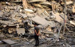 دمار بيوت غزة بعد القصف