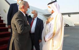 اشتية يصل قطر لمناقشة ملف إعمار غزة وقضايا أخرى
