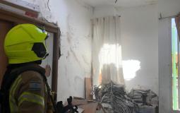 تضرر منزل اسرائيلي بصواريخ من غزة