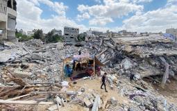 الفلسطينيون ينتظرون إعادة إعمار ما دمره الاحتلال