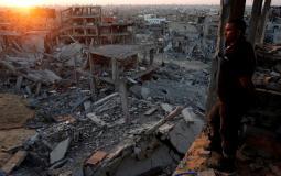 الفلسطينيون ينتظرون الإعمار