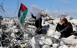 سكان غزة ينتظرون عملية إعادة الإعمار