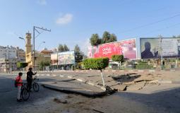 الاحتلال تعمد تدمير البنى التحتية في غزة