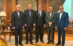 وفد الجبهة التقى رئيس المخابرات المصرية