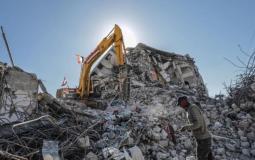إعادة إعمار قطاع غزة
