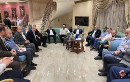 أعضاء المكتب السياسي لحركة حماس في القاهرة