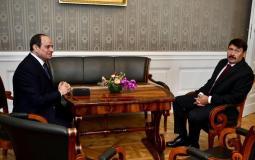 استقبال الرئيس المجري لنظيره المصري عبد الفتاح السيسي