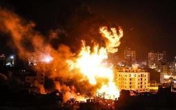 قصف غزة - أرشيفية