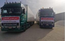 السفير اللوح يشكر مصر لإرسالها مساعدات طبية للشعب الفلسطيني