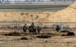الجيش الإسرائيلي على حدود غزة