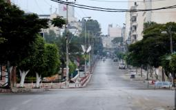 حظر تجول في غزة بسبب تفشي فيروس كورونا - تعبيرية