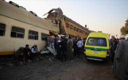 اصابات في حادث قطار انحرف عن مساره بمحافظة المنوفية شمال القاهرة