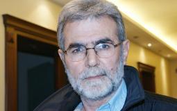 زياد النخالة الأمين العام لحركة الجهاد الإسلامي في فلسطين
