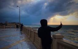 بحر مدينة غزة - تعبيرية