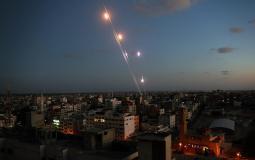 إطلاق قذائف صاروخية من غزة  - أرشيفية