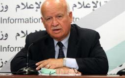 عضو اللجنة التنفيذية لمنظمة التحرير الفلسطينية زكريا الأغا