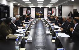 الجلسة الاسبوعية لمجلس الوزراء الفلسطيني