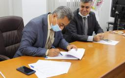 توقيع اتفاقية لإنتاج الطاقة الشمسية لمدينة غزة الصناعية