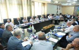جامعة الأزهر بغزة تستقبل نخبة من الكتاب والمثقفين الفلسطينيين.JPG