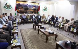 اجتماع لجنة الانتخابات مع الفصائل الفلسطينية في غزة اليوم