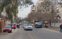 حالة الطرق في غزة