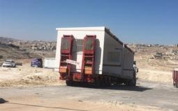 كرافانات الاحتلال لسكان الخان الأحمر