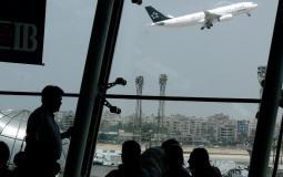 تعطل حركة الطيران في مطار القاهرة الدولي بسبب الأمطار