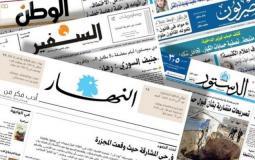 اقتحامات الأقصى تتصدر عناوين الصحف العربية