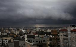 طقس فلسطين أمطار وعواصف رعدية - ارشيف