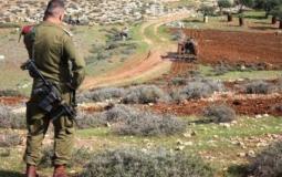 قوات الاحتلال تبدأ برسم حدودٍ لمصادرة أراضٍ شرق بيت لحم