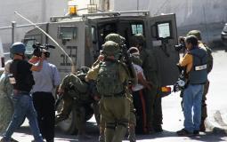اعتقال شبان - ارشيف