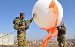 الاحتلال يطلق منطاد جنوب بيت لحم
