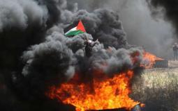 مسيرة العودة الكبرى -حدود غزة الشرقية-