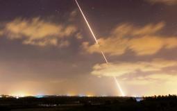 صاروخ من غزة صوب إسرائيل - أرشيفة