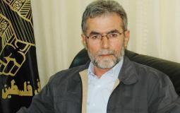 الامين العام لحركة الجهاد الإسلامي زياد النخالة