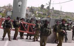 حاجز إسرائيلي