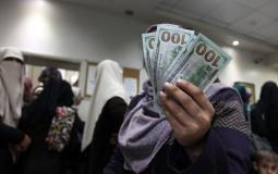 صرف منحة قطر 100 دولار الدفعة الثانية خلال الساعات المقبلة