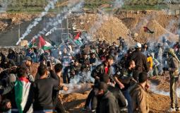 مسيرة العودة في غزة -أرشيف-
