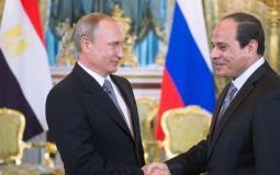 عبد الفتاح السيسي وفلاديمير بوتين - أرشيفية
