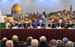 اجتماع القيادة الفلسطينية في رام الله