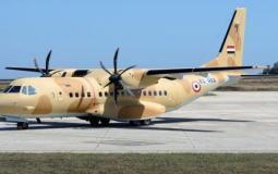 طائرة عسكرية مصرية
