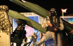 سرايا القدس خلال عرض عسكري في غزة - أرشيفية
