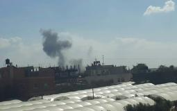 قصف إسرائيلي على خانيونس - توضيحية -غزة الآن