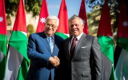 الرئيس عباس يهنئ العاهل الأردني بعيد الاستقلال