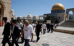 مستوطنون يقتحمون باحات المسجد الأقصى _أرشيفية_